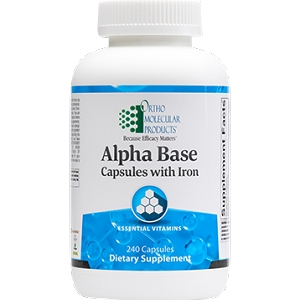 Alpha Base With Iron, 240 capsules