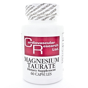 Magnesium Taurate 125 mg, 60 ct