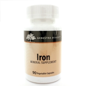 Iron 40 mg, 90 vegetarian capsules
