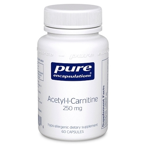 Acetyl-L-Carnitine 250mg, 60 capsules
