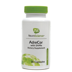 AdreCor with SAMe, 30 capsules