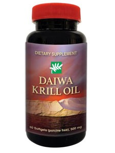 Daiwa Krill Oil, 60 softgels