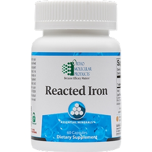 Reacted Iron, 60 vegetarian capsules