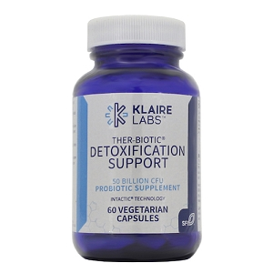Ther-Biotic Detox Support, 60 vegetarian capsules