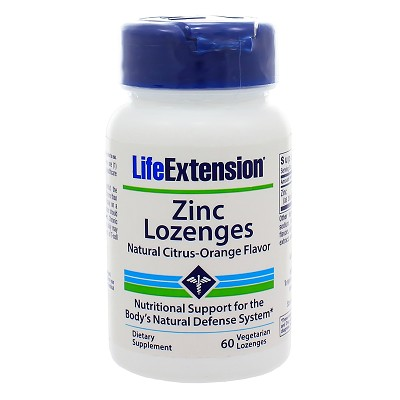 Zinc Lozenges 18.75mg, 60 vegetarian lozenges
